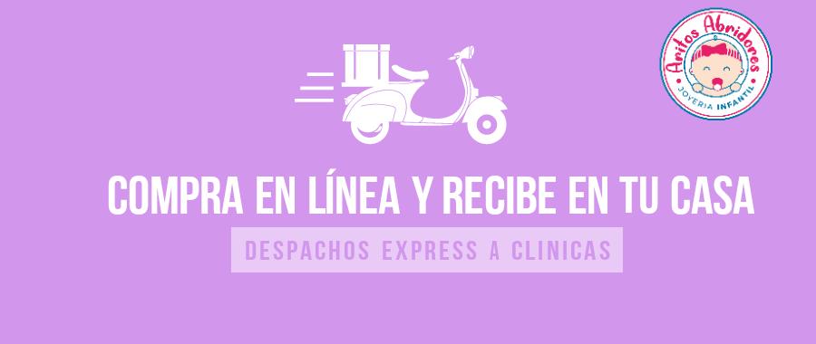 Entregas en las principales clínicas de santiago